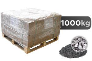 1000 kg Hartguss kantig