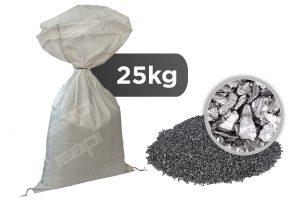 25 kg Hartguss kantig